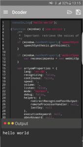 Dcoder screenshot