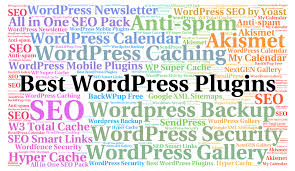 List of 5 best SEO plugins for WordPress.