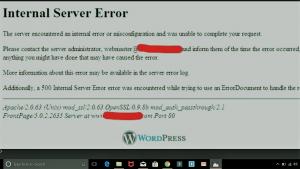 500 error snap