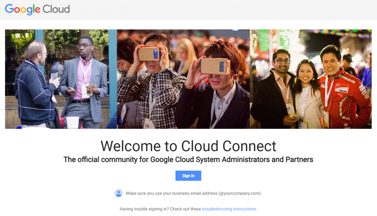 What happened to googleforwork.com? Welcome the new cloudconnect.goog domain